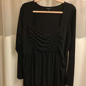 TORRID size 2 pink black top blouse EUC plus size